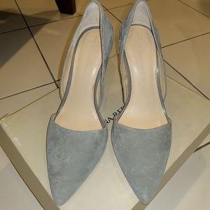 Bannana Republic Grey suede Adeli pumps in size 7.